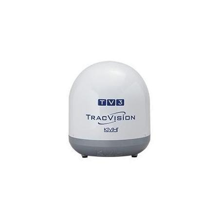 KVH TracVision TV3 w/ IP antenna front view