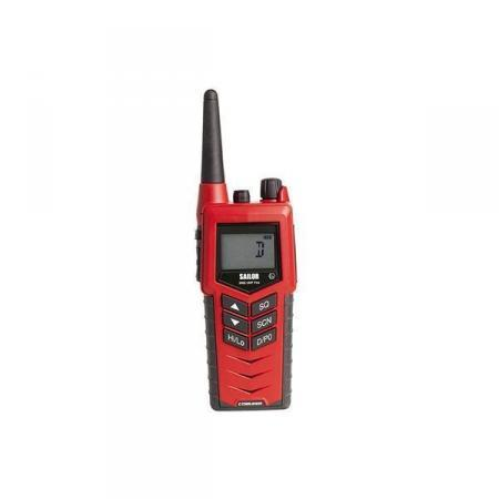 SAILOR 3965 UHF Fire Fighter portable radio front view
